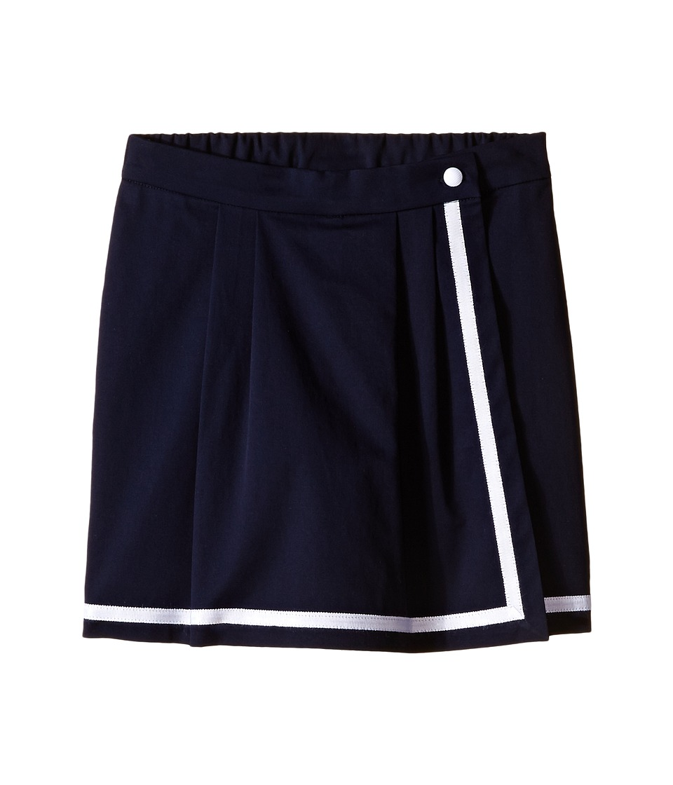 Oscar de la Renta Childrenswear Cotton Skort Toddler/Little Kids/Big Kids Navy Girls Skort