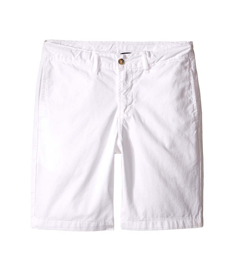 Oscar de la Renta Childrenswear Cotton Twill Classic Shorts Toddler/Little Kids/Big Kids White Boys Shorts