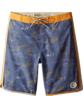 O'Neill Kids - Retrofreak Hook Boardshorts (Big Kids)