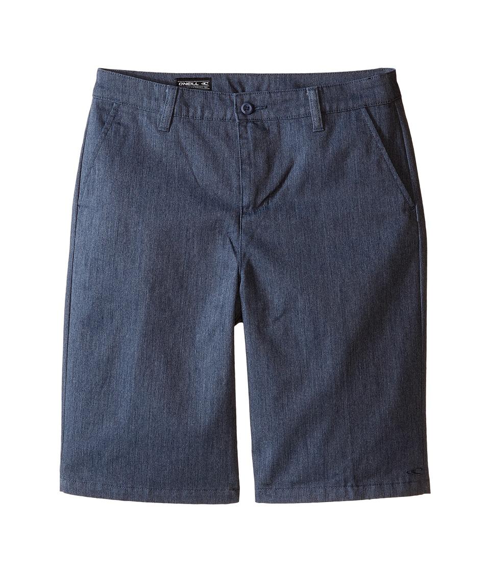 O'Neill Kids - Contact Walkshorts (Big Kids) (Blue Heathe...