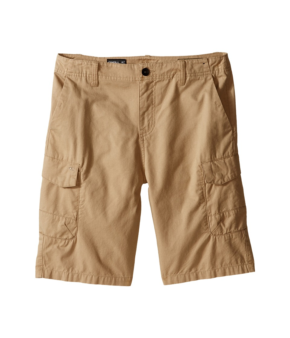 ONeill Kids Black Hawk Cargo Shorts Big Kids Khaki Boys Shorts