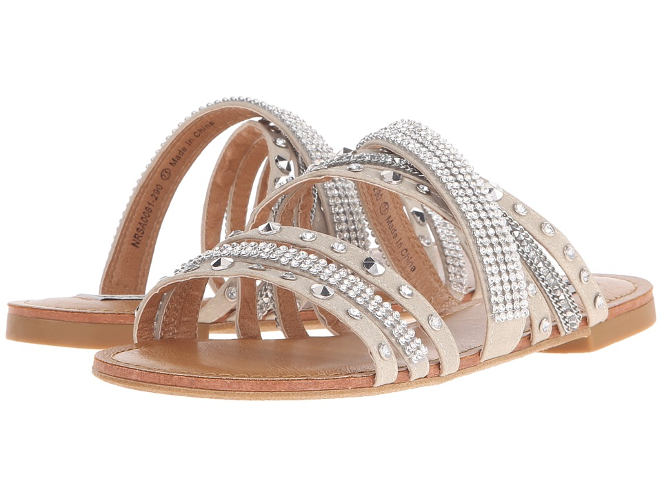 Not Rated Palm Island Cream Womens Sandals