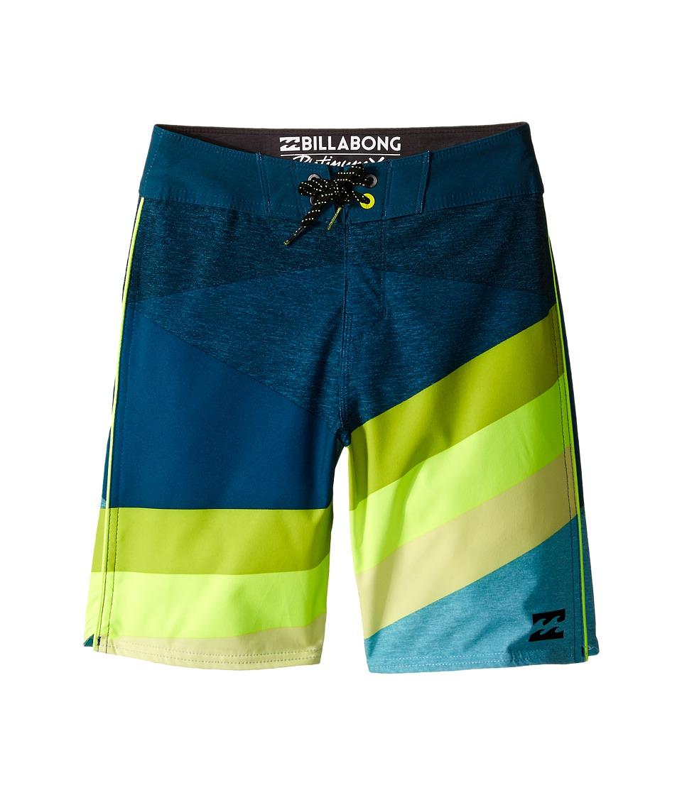 Billabong Kids Slice X Boardshorts Big Kids Haze Boys Swimwear