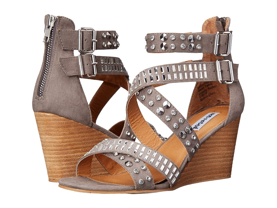 Not Rated Serpentina Grey Womens Wedge Shoes