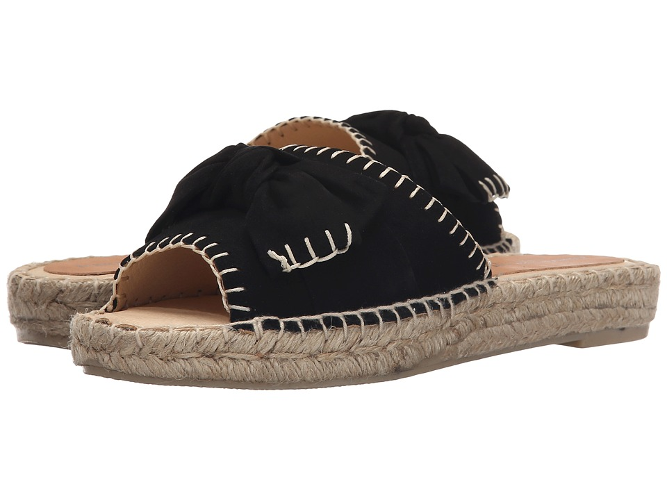 Patricia Green Beaux Black Womens Slippers