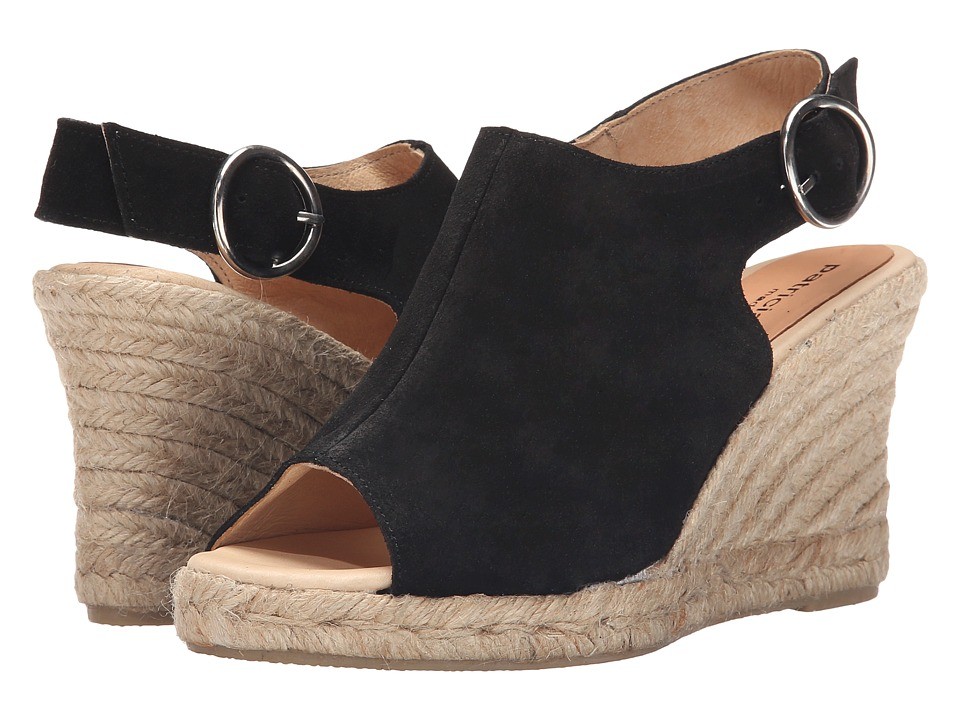 Patricia Green Belle Black Womens Slippers