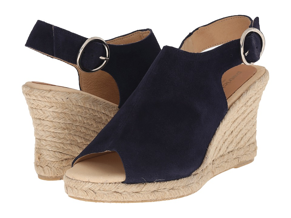 Patricia Green Belle Navy Womens Slippers