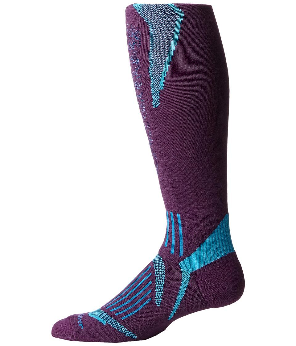 Fox River Bromley Lw Purple Crew Cut Socks Shoes