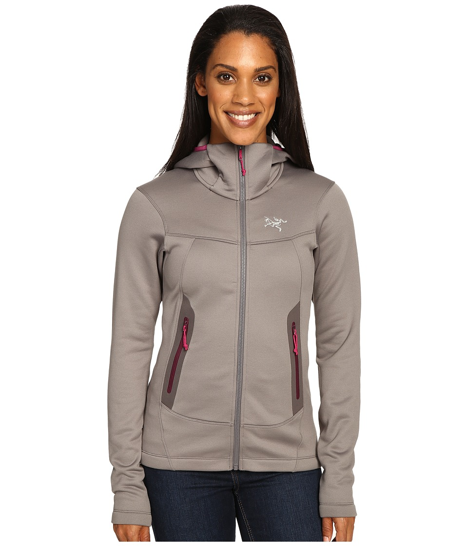Arc'Teryx Arenite Hoodie (Brushed Nickel) Women's Sweatshirt