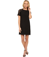 KUT from the Kloth - Mock Raglan Lace Sleeve Dress