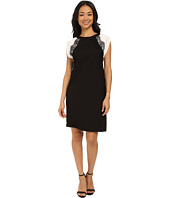 KUT from the Kloth - Shift Dress w/ Contrast Shoulders