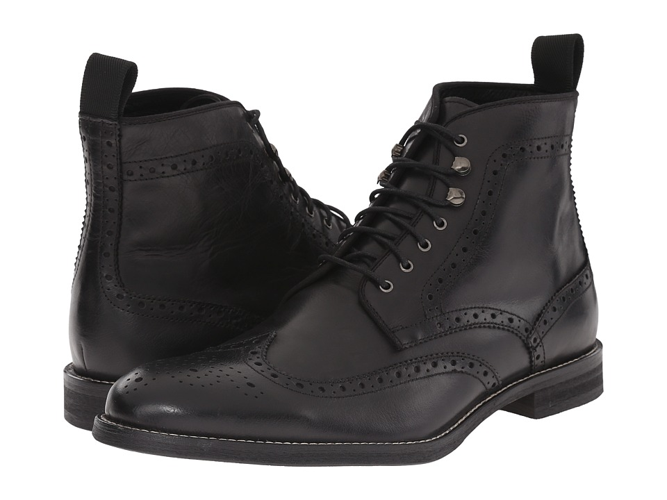 Gordon Rush Ferguson Black Mens Lace up Boots