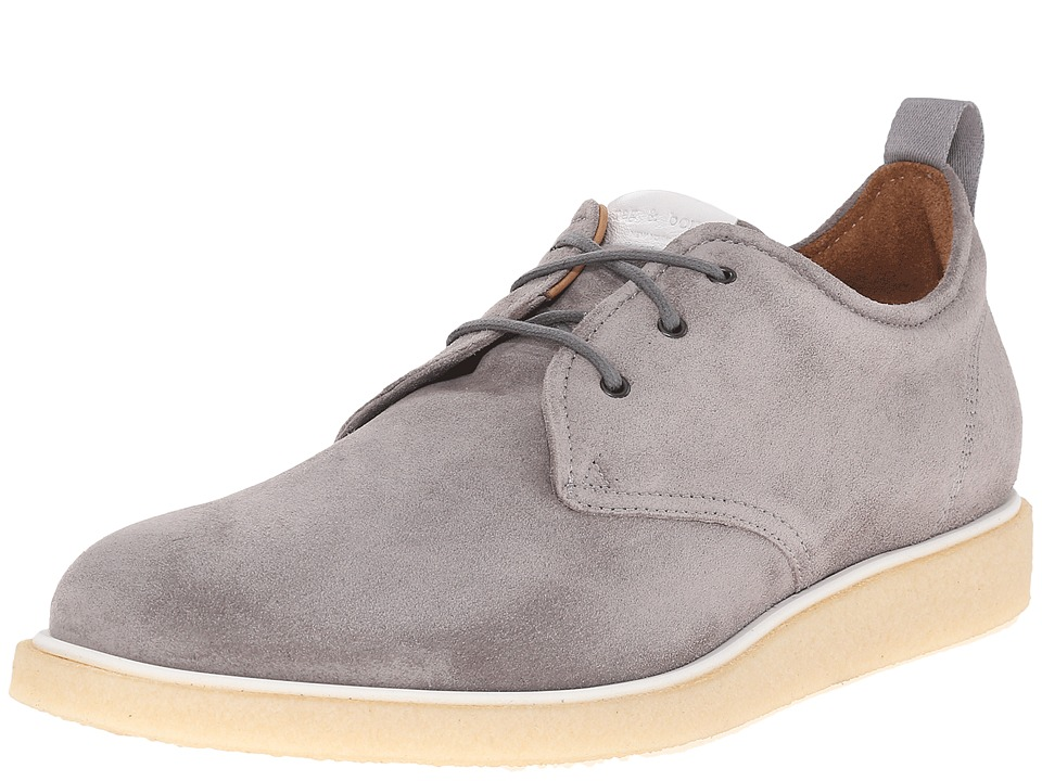 rag amp bone Elliot Oxford Grey Mens Lace up casual Shoes