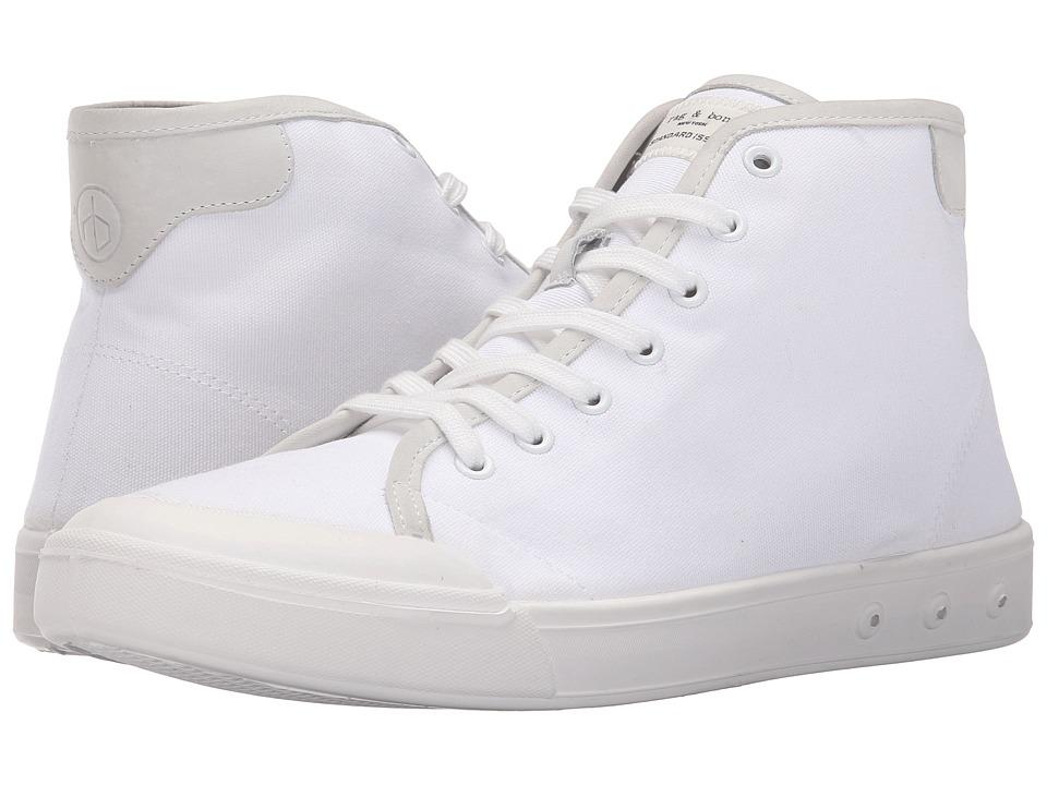 rag & bone - Standard Issue High Top (White) Men's Shoes