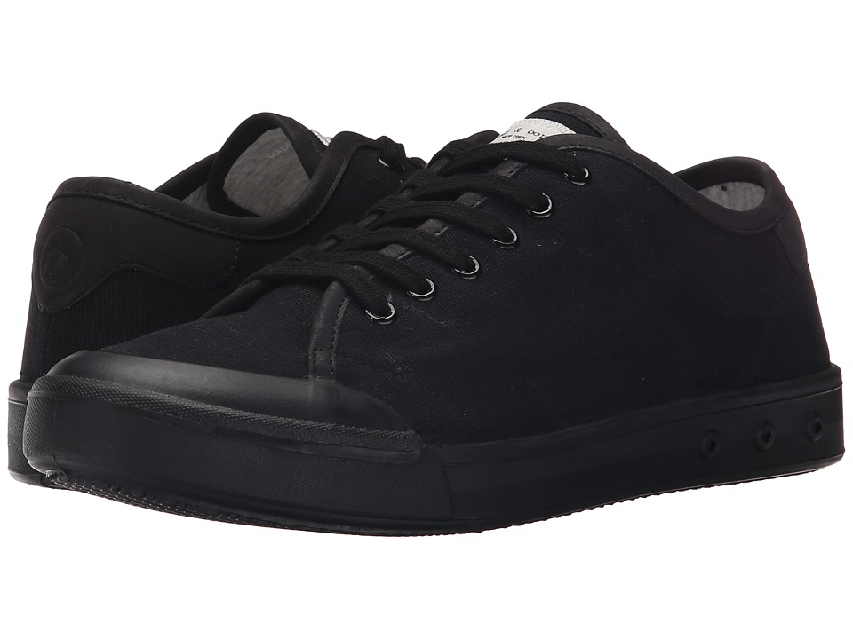 rag amp bone Standard Issue Lace Up Black Mens Shoes