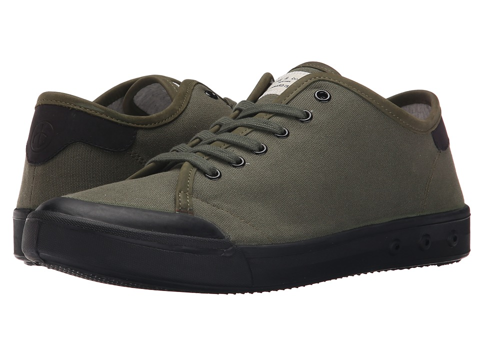 rag amp bone Standard Issue Lace Up Olive/Black Mens Shoes