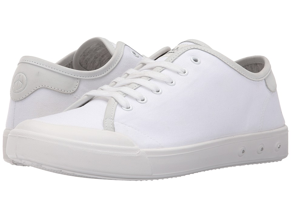 rag amp bone Standard Issue Lace Up White Mens Shoes