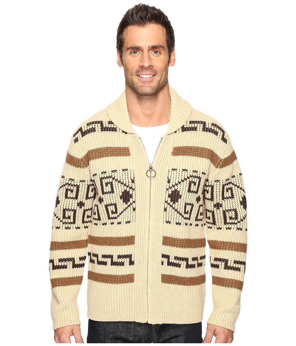 Pendleton Westerley Sweater (Tan/Brown) Men's Sweater