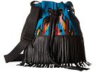 STS Ranchwear The Lolita Serape Crossbody (Blue/Multi Serape Blanket)