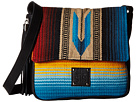 STS Ranchwear The Isobella Serape Shoulder Bag (Blue/Multi Serape Blanket)