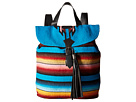 STS Ranchwear The Tejana Serape Backpack (Blue/Multi Serape Blanket)