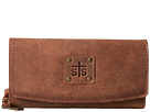 STS Ranchwear The Baroness Tri-Fold Wallet (Brown)