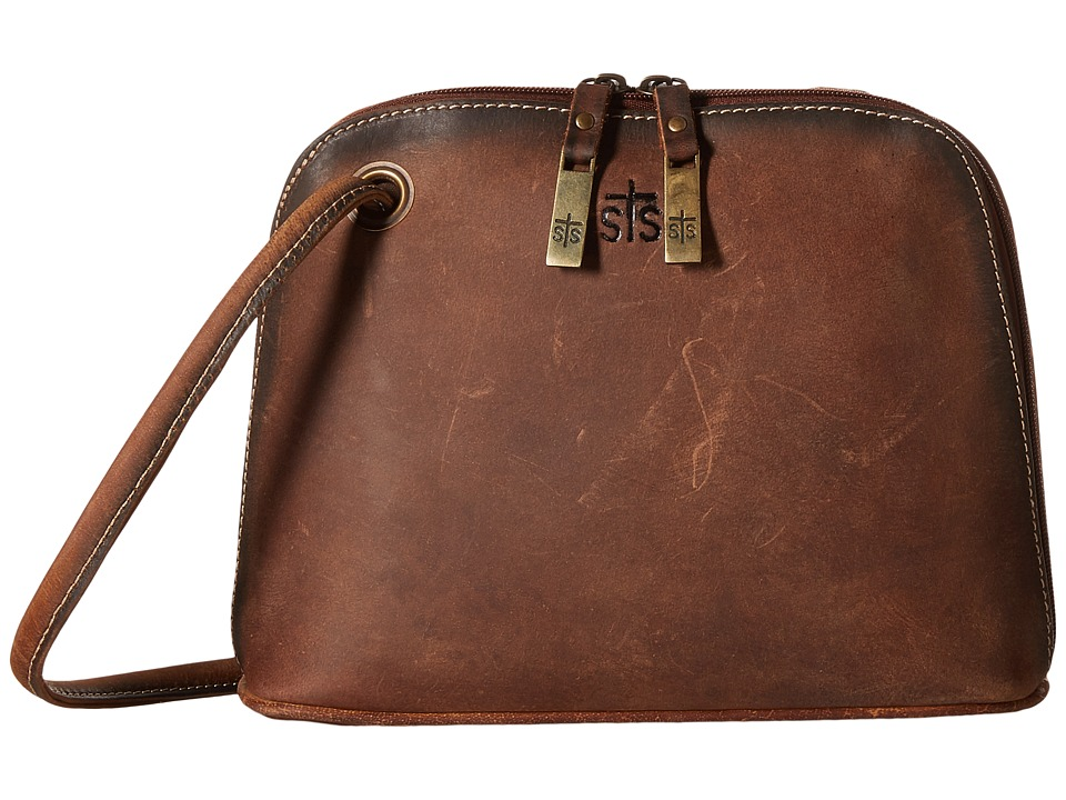 STS Ranchwear - The Baroness Crossbody (Brown) Cross Body Handbags