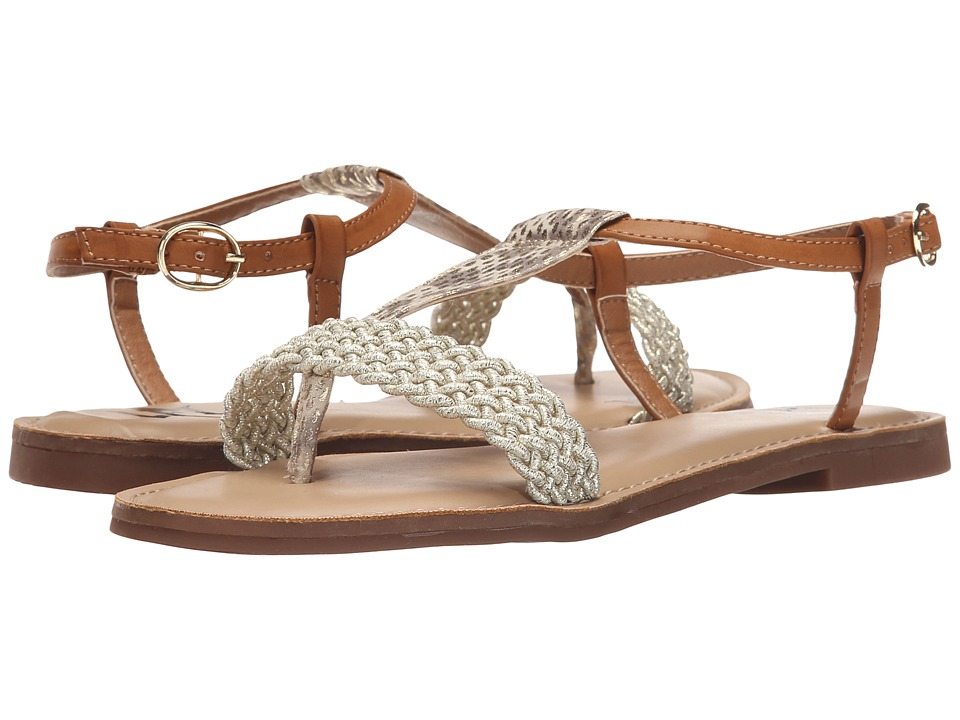 LFL by Lust For Life Defiant Natural Multi Womens Flat Shoes