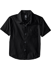 Volcom Kids - Everett Solid Short Sleeve Shirt (Toddler/Little Kids)