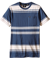 Volcom Kids - Hayward Stripe Short Sleeve Crew (Big Kids)
