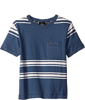 Volcom Kids - Hayward Stripe Short Sleeve Crew (Toddler/Little Kids)