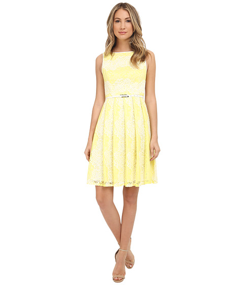 Adrianna Papell Fit & Flare Lace Dress