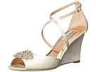 Badgley Mischka - Abigail (Ivory Satin)