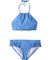 Billabong Kids - Sol Searcher High Neck Crop Top Swimsuit (Little Kids/Big Kids)