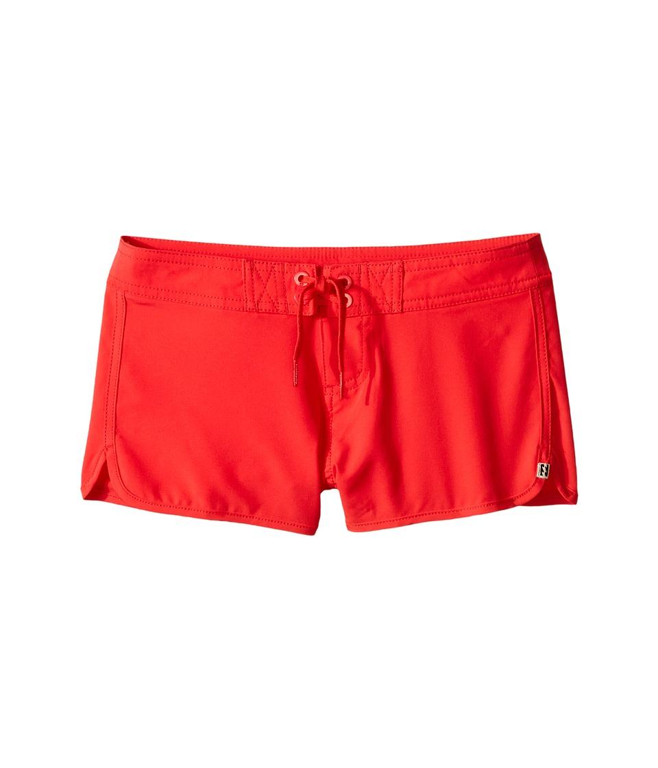 Billabong Kids Sol Searcher 2 Fixed Boardshorts Little Kids/Big Kids Red Hot Girls Swimwear