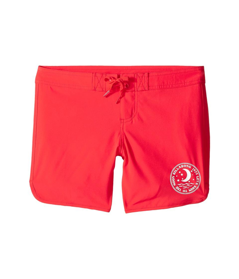 Billabong Kids Sol Searcher 5 Fixed Boardshorts Little Kids/Big Kids Red Hot Girls Swimwear