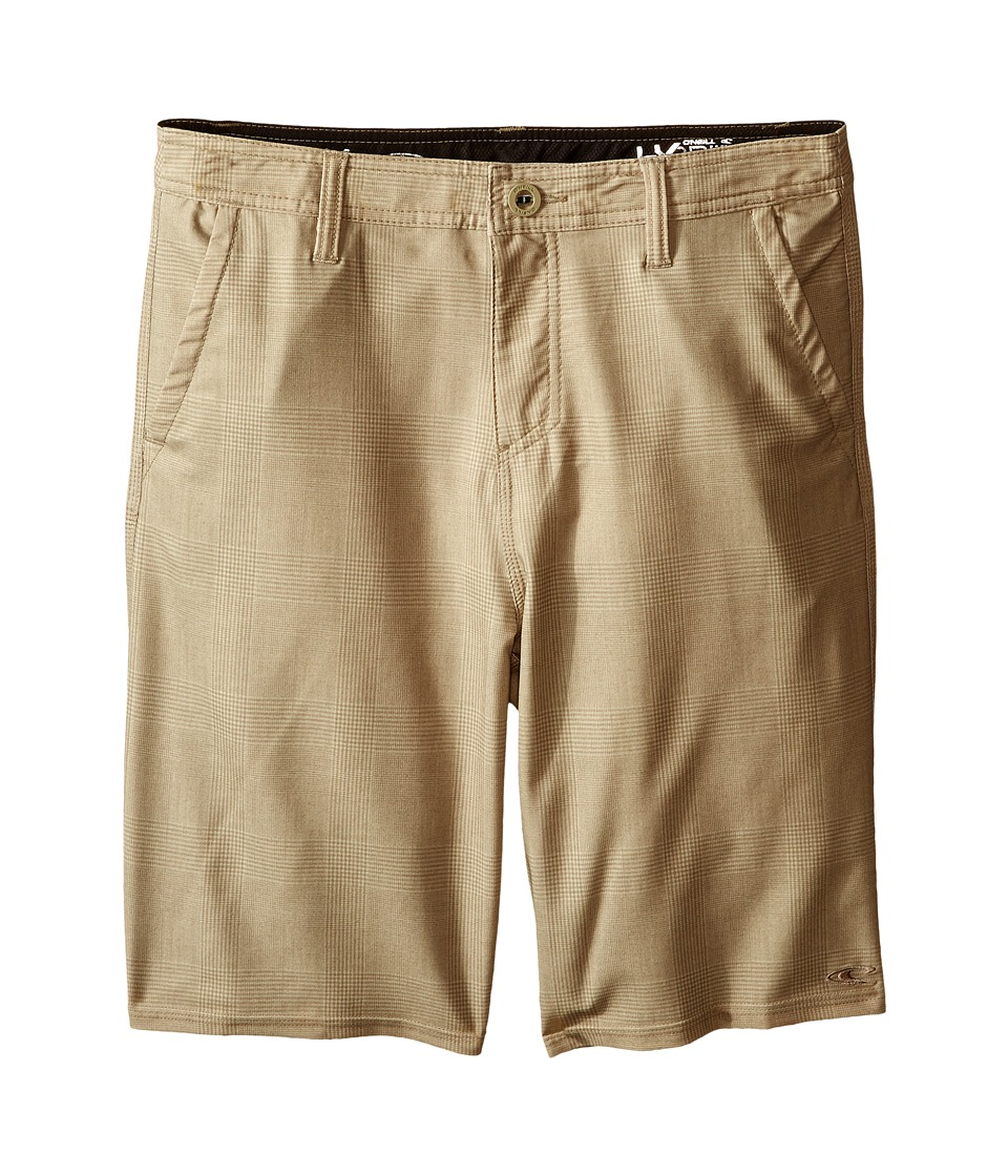 ONeill Kids Insider Boardshorts Big Kids Khaki Boys Swimwear
