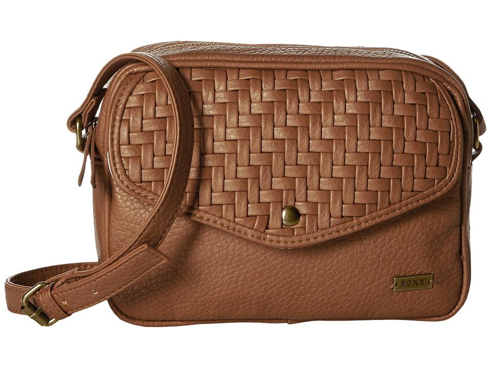 Roxy La Graciosa Camel Cross Body Handbags