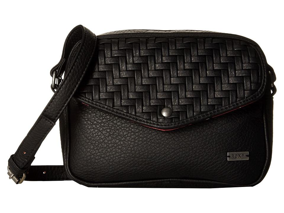 Roxy La Graciosa True Black Cross Body Handbags
