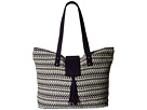 Roxy Indian Sky Tote Bag (Wave Jacquard Combo/Sand Piper)