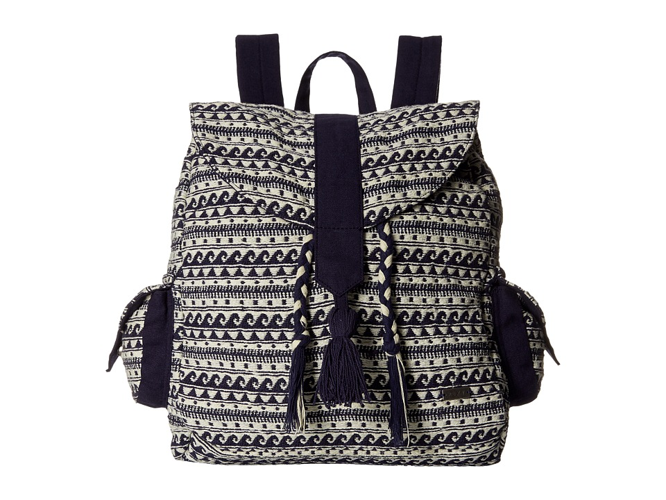 Roxy Delhi Backpack Wave Jacquard Combo/Sand Piper Backpack Bags