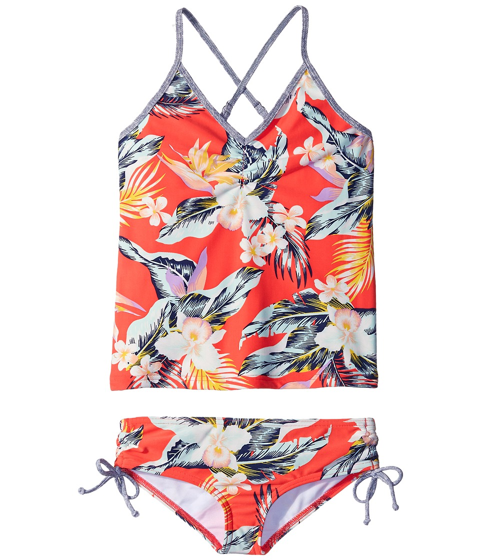 Billabong Kids Aloha Yo Tankini Swimsuit Little Kids/Big Kids Multi Girls Swimwear Sets