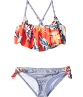 Billabong Kids - Aloha Yo Flounce Swimsuit (Little Kids/Big Kids)