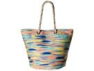 Roxy Sun Seeker Tote Bag (Ikat Pattern New Combo Chambray)