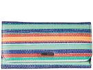 Roxy My Long Eyes Wallet (Yandi Stripe Combo Eclipse)