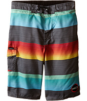 O'Neill Kids - Santa Cruz Stripe Boardshorts (Little Kids)