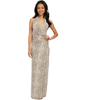 KAMALIKULTURE by Norma Kamali - Halter Wrap Long Dress