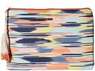 Roxy Hello Again Wallet (Ikat Pattern New/Combo Chambray)