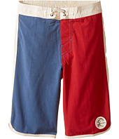 O'Neill Kids - Retrofreak Scallop Boardshorts (Little Kids)