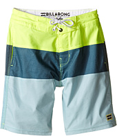 Billabong Kids - Tribong Lo Tides Boardshorts (Big Kids)